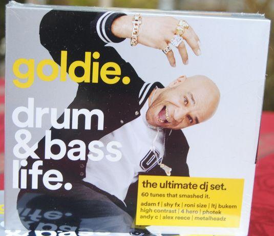 goldie. drum & bass life/4CD Nowa