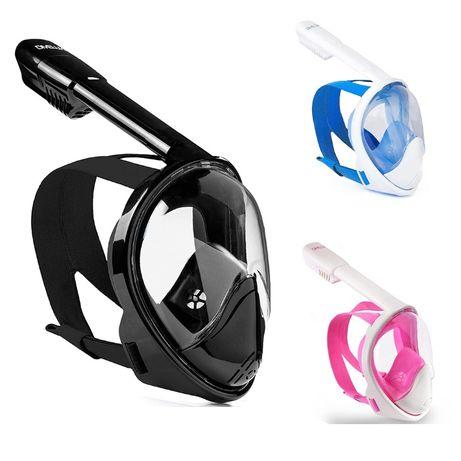 Полнолицевая маска панорамная маска для плавания Divelux