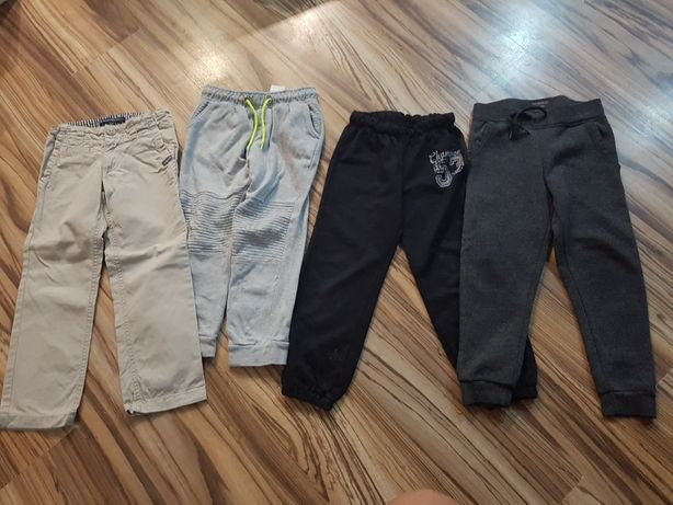 Spodnie rozm 110