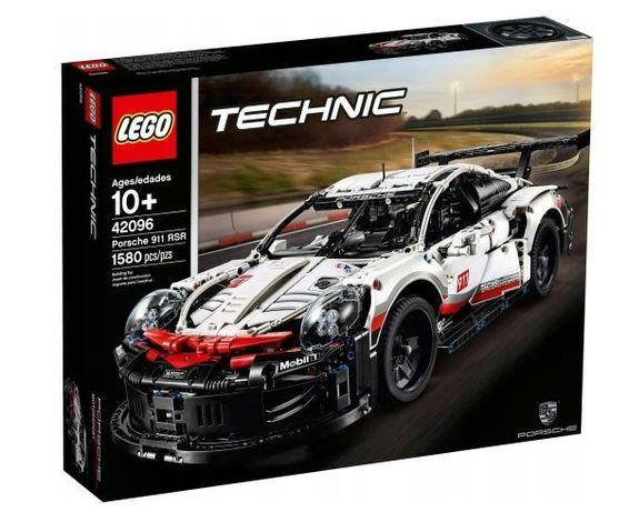 Lego Technic Porsche 911 RSR 42096 Łódź