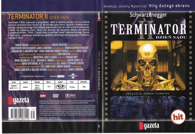 Film DVD Terminator 2 dzień sądu