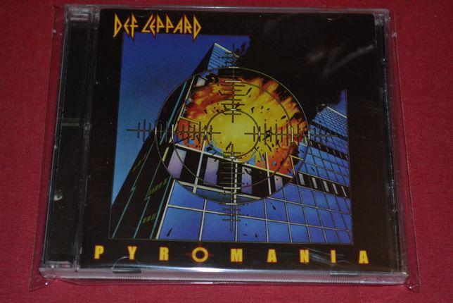 "Def Leppard ""Pyromania"" 2CD Deluxe Edition. Новый. Произ.Россия"