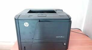 Лазерный принтер HP LaserJet Pro 400 M401d с картриджем