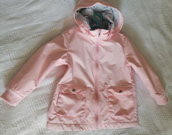 Курточка весенняя парка на флисе H&M на девочку 110 - 116р куртка