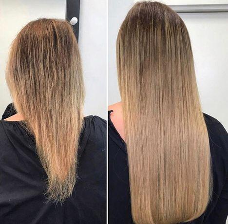 Послуги нарощення  натурального волосся