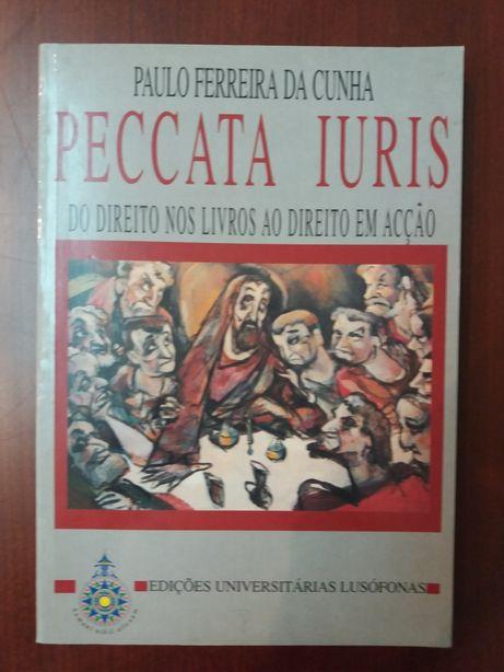 """Livro """"Peccata Iuris - do direito nos livros ao direito em ação"""""""