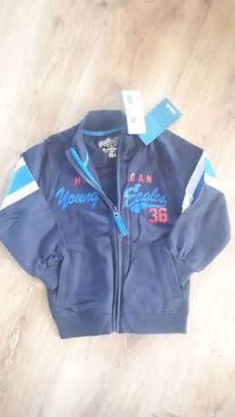 Nowa Bluza dresowa 5-10-15 dla chłopca 104 rozmiar