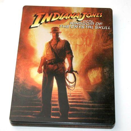 DVD - Indiana Jones e a Caveira de Cristal - CAIXA METALICA - FILME