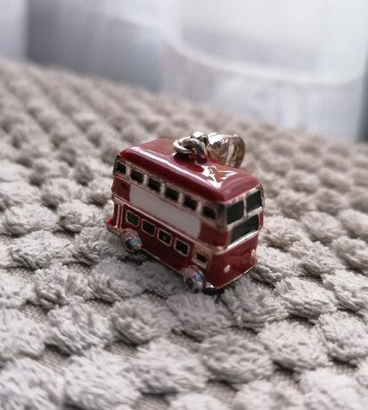 Charms/zawieszka autobus Londyśki