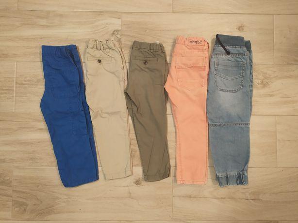 Zestaw 98 spodnie joggersy Reserved gap okaidi hm