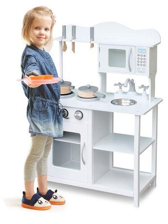 ТОП! Детская кухня деревянная для детей, дитяча ігрова + аксессуары