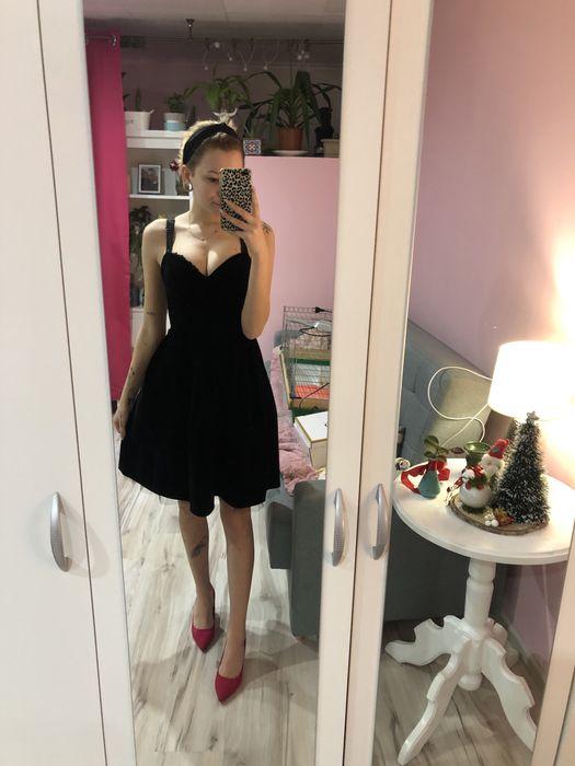 Czarna sukienka mohito xs Sokolec - image 1