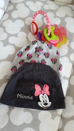 Disney 2 pak czapek wiosna dla dziewczynki