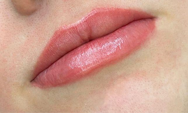 Акварельные губы- 800 грн