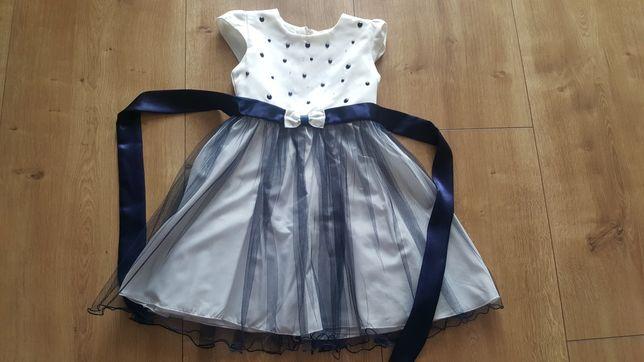 Sukienka dziewczęca elegancka 110