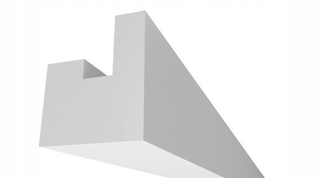 Gzyms Oświetleniowy Listwa Oświetleniowa LED XPS - Seria DUO 5/6cm