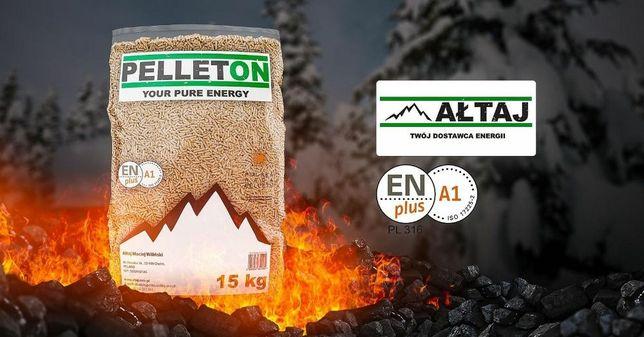 PELLETON EN A1 Transport GRATIS najlepszy certyfikowany pellet Ałtaj
