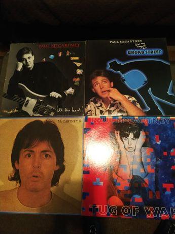 Discos vinil (Paul McCartney, L. Pavarotti)