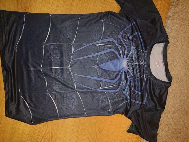 Koszulki oddychajace spider man venom i ironman roz L