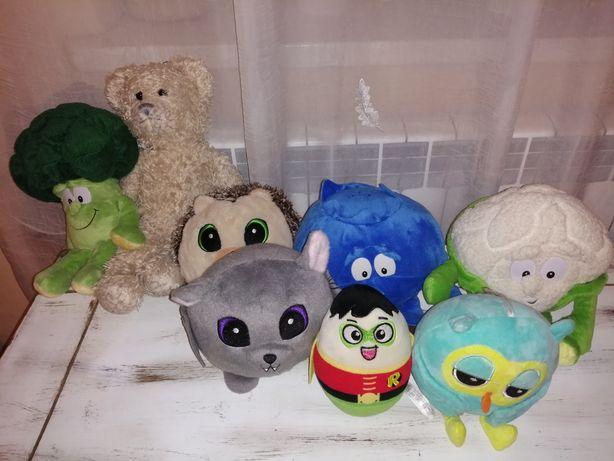 Maskotki, pluszaki, zabawki