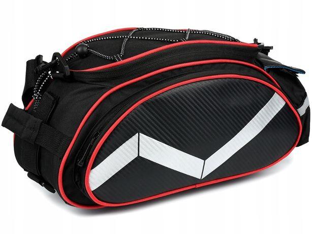 Torba rowerowa sakwa na bagażnik ramię rower