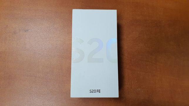 NOWY Samsung Galaxy S20 FE Duos 128GB/6GB RAM biały, gwarancja