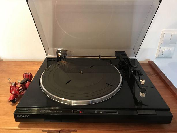Prato gira discos vinil hi fi SONY Ps-lx431 full automático 100%
