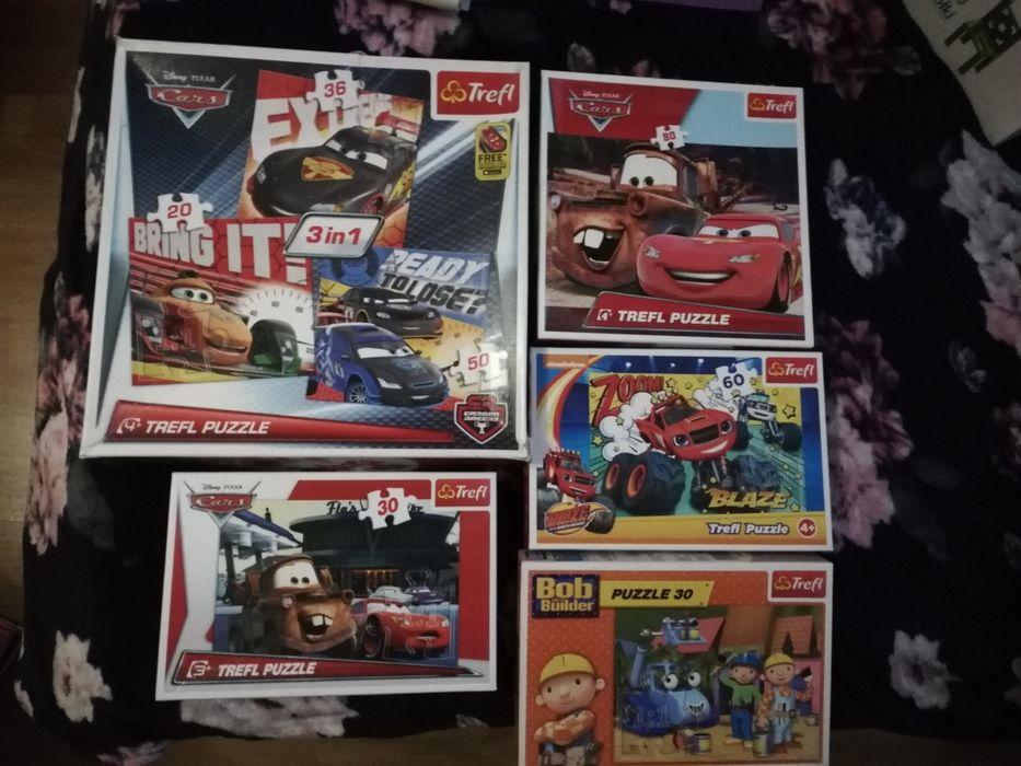 5x puzzle McQueen Szczecin - image 1