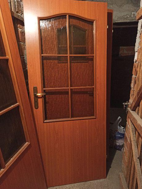 Drzwi pokojowe i z tulejami, klasyk, olcha. Cena za 2 sztuki. Polecam!