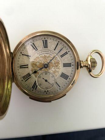Продам механизм Швейцарские старинные часы-репетиры G.A.Huguenin&Fils