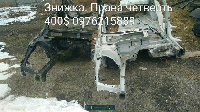 Четверть, чвертка аланжерон Subaru legacy outback B15 USA  Разборка