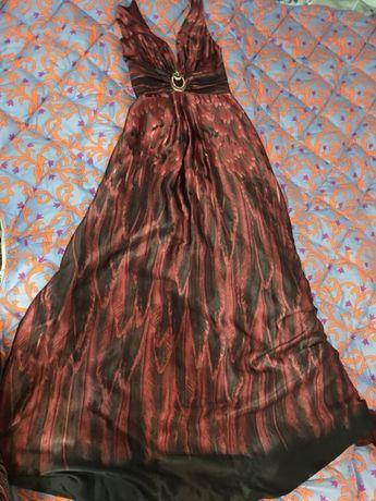 Шёлковое платье Gizia