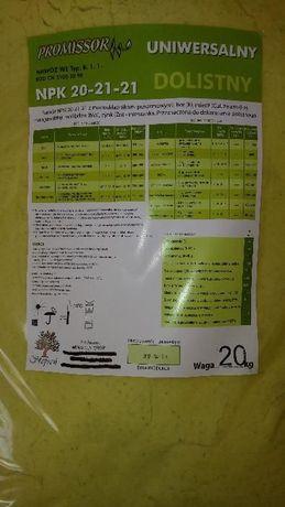Nawóz Dolistny Uniwersalny ZRÓWNOWAŻONY- NPK 20-21-21 . Worek 20 kg
