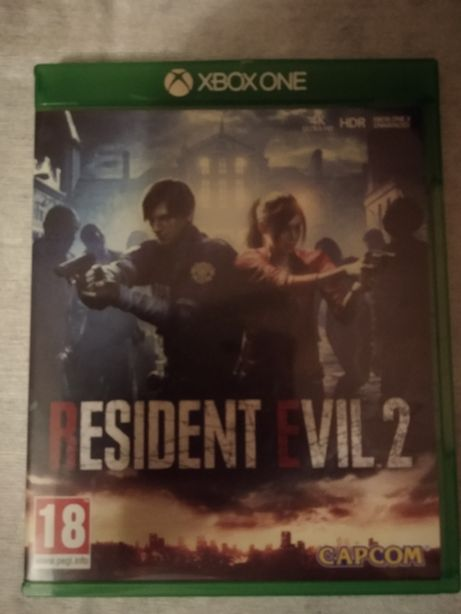 Resident Evil 2 PL xbox one płyta ideał bez rys