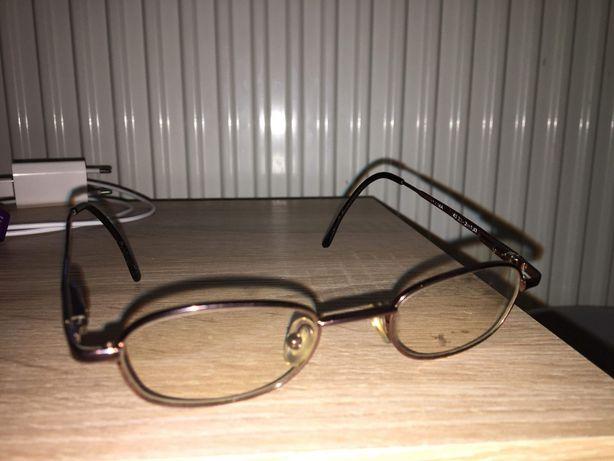 Okulary O antyrefleksowe druciane
