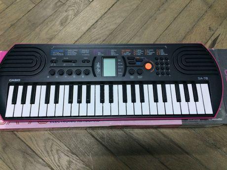 Keyboard CASIO Sa 76 - NOWY