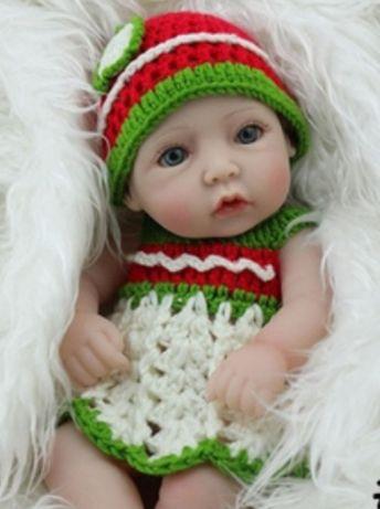 Очень милая силиконовая кукла пупс Reborn
