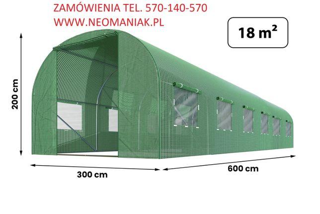 TUNEL FOLIOWY 3X6 M 18m2 Foliak na warzywa Nowa Dostawa Styczeń 2021r.