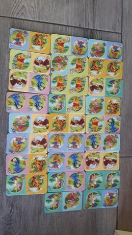 Domino Kubuś Puchatek dla dzieci gra