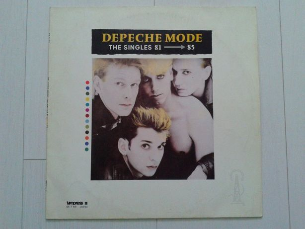 Depeche Mode - The Singles 81 → 85 vinyl