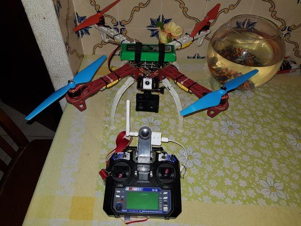 Drone f450 fpv com lipo 3s
