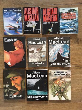 Alistair MacLean - książki 10 szt