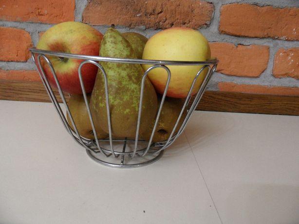 Miska na owoce, metalowa