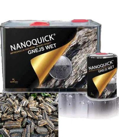 Impregnat Nanoquick Gnejs Wet 5L z efektem mokrego kamienia