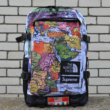 Рюкзак Supreme x The North Face backpack map