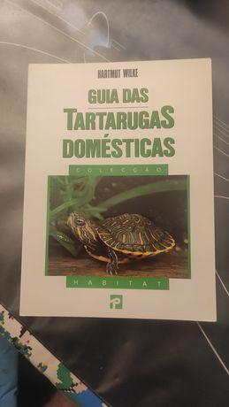 Livro Guia das Tartarugas Domésticas - Habitat Presença novo