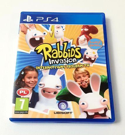Gra Rabbids Invasion Interaktywny Program Tv PL PS4 PS5 Playstation 4