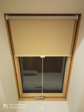 Рулонные шторы на Мансардные окна с пружинным механизмом