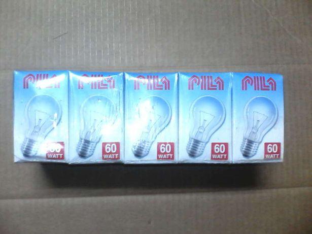 продам лампочки 60 ватт PILA.