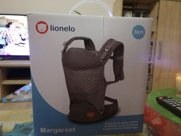 Nosidło ergonomiczne Lionelo Margareet 3 w 1
